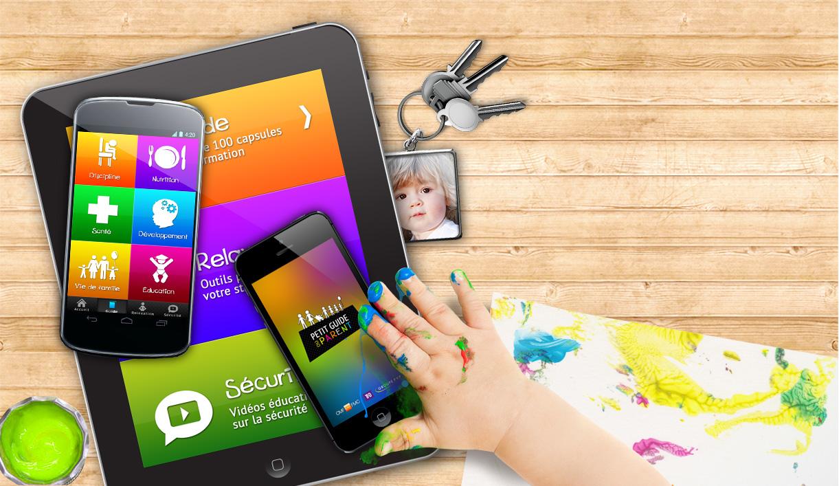 Application mobile « Le petit guide du parent »